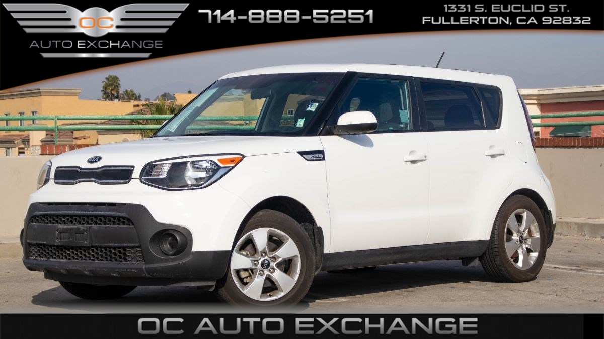2018 Kia Soul Base (Eco Mode and Bluetooth)
