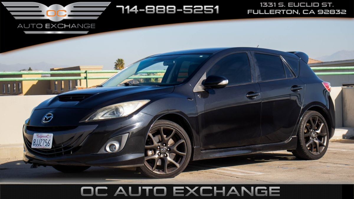 2013 Mazda Mazda Speed3 Touring (Bluetooth & Touch Screen)