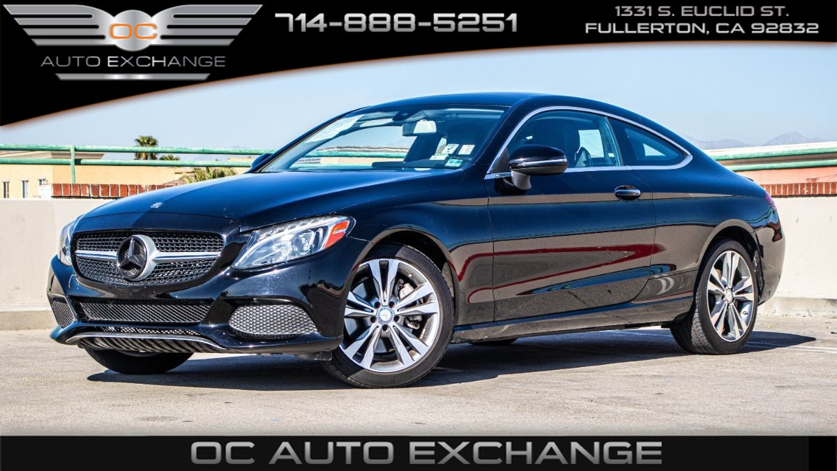 2017 Mercedes-Benz C 300 Coupe