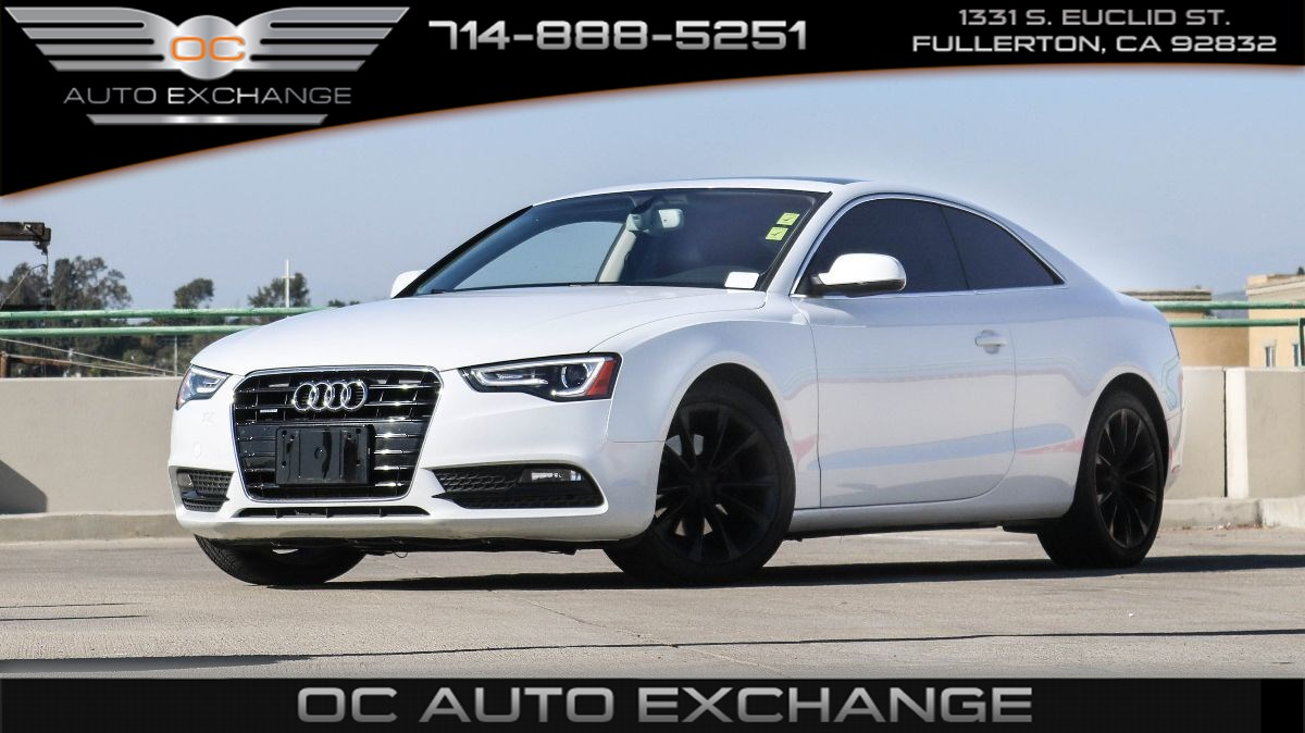 2013 Audi A5 Coupe Premium Plus