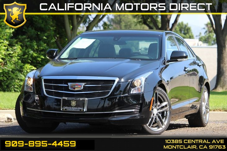 Used 2015 Cadillac Ats Sedan 2 0t Luxury In Montclair