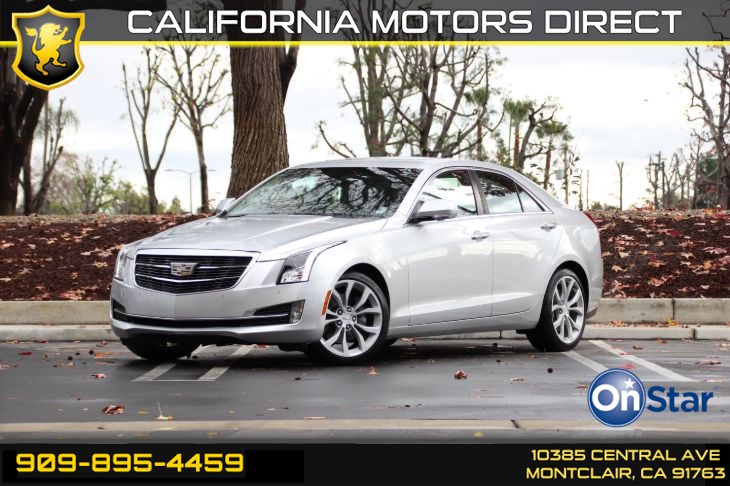 2016 Cadillac ATS Sedan Premium Collection AWD(COLD WEATHER PKG)