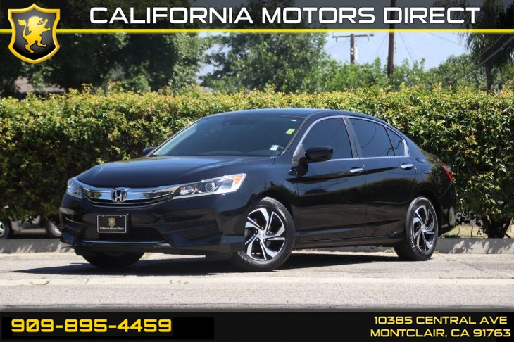 2016 Honda Accord Sedan LX w/Honda Sensing