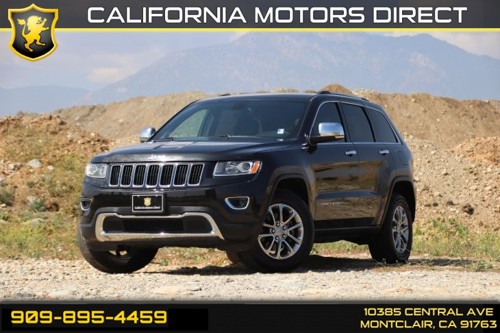 2015 Jeep Grand Cherokee Limited (SATELLITE RADIO & BACK-UP CAMERA)