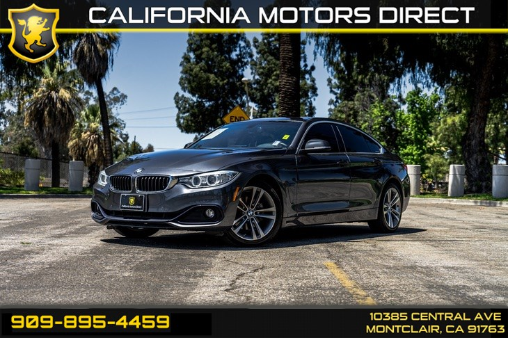 2017 BMW 4 Series 430i Gran Coupe(DRIVER ASSISTANCE PACKAGE & NAV)