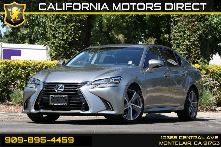 2016 Lexus GS 200t (BACK-UP CAMERA & BLUETOOTH)