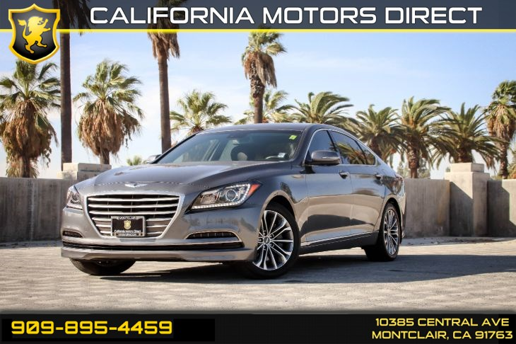 2016 Hyundai Genesis 3.8L(BLUETOOTH & BACK-UP CAMERA)