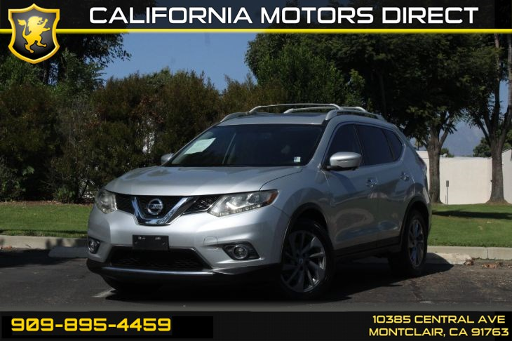 2015 Nissan Rogue SL(BACK-UP CAMERA & A/C)