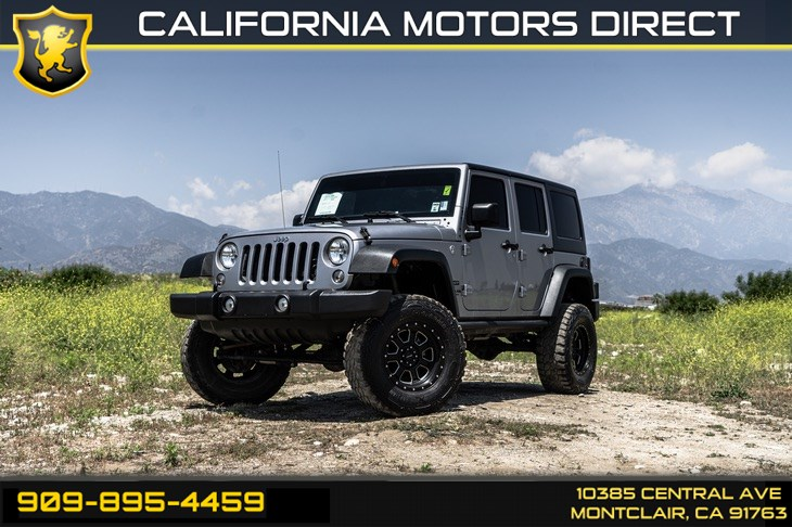 2015 Jeep Wrangler Unlimited Sport (CONNECTIVITY PKG & 3 PIECE HARD TOP)