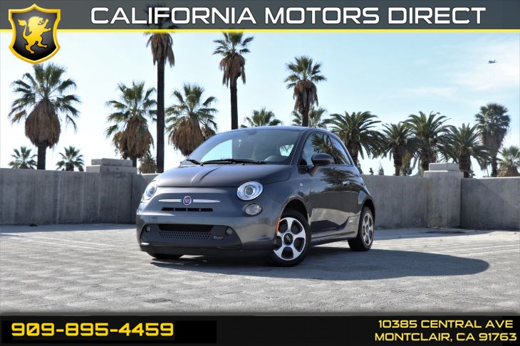 2016 FIAT 500e (Leather & Navigation)