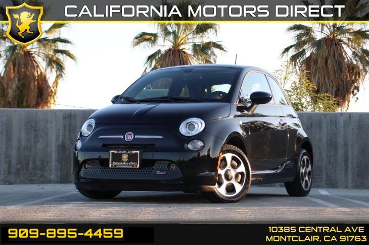 2016 FIAT 500e (Leather & Low Miles)