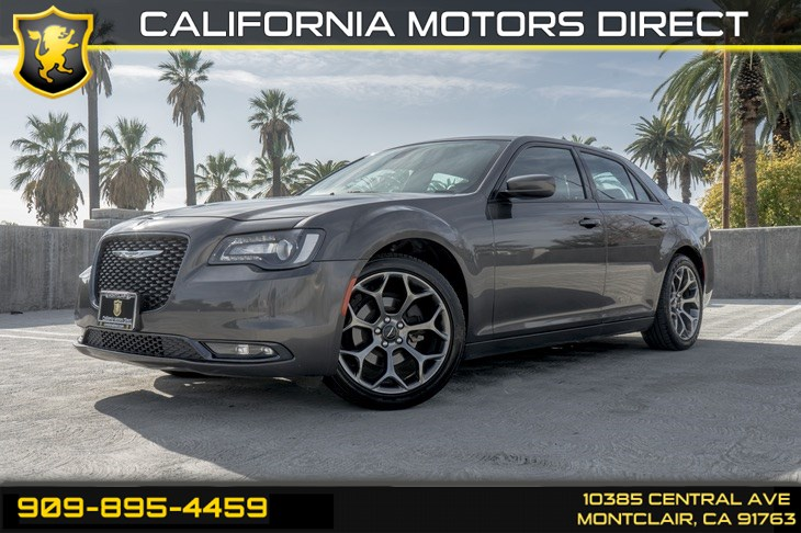2018 Chrysler 300 300S (BLUETOOTH & BACK-UP CAMERA)