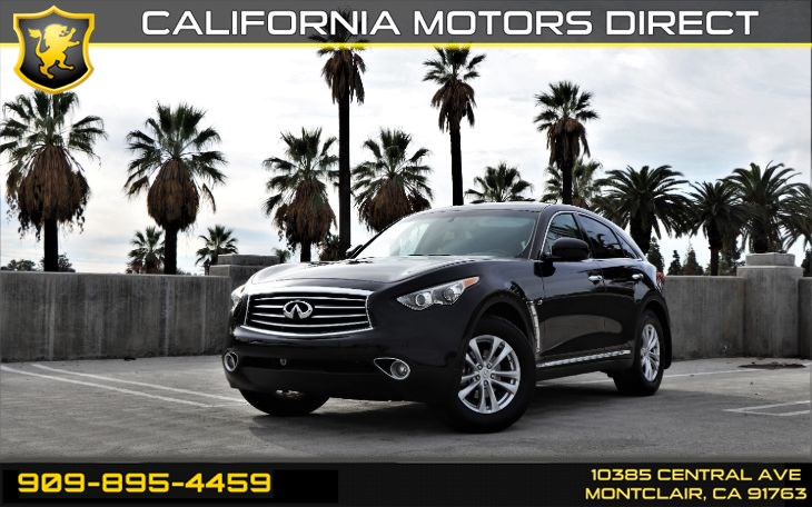 2016 INFINITI QX70 (SUNROOF & BLUETOOTH)