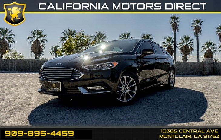 2017 Ford Fusion SE (BACK-UP CAMERA & BLUETOOTH)