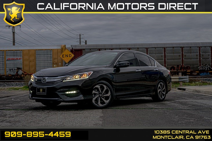2017 Honda Accord Sedan EX-L V6(SUNROOF & BACK-UP CAMERA)