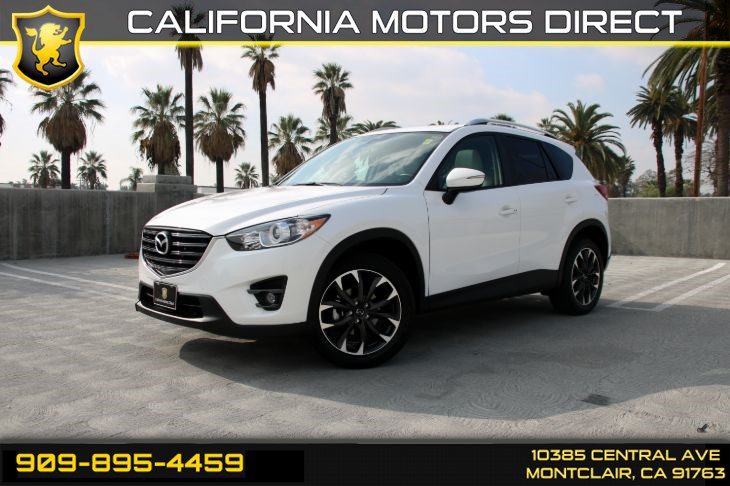 2016 Mazda CX-5 Grand Touring (ALL WHEEL DRIVE & BACK-UP CAMERA)