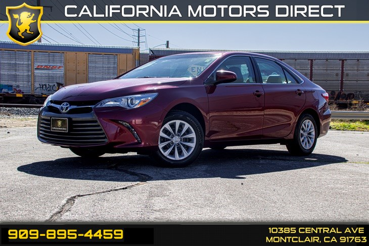 2017 Toyota Camry XLE(BLUETOOTH & BACK-UP CAMERA)