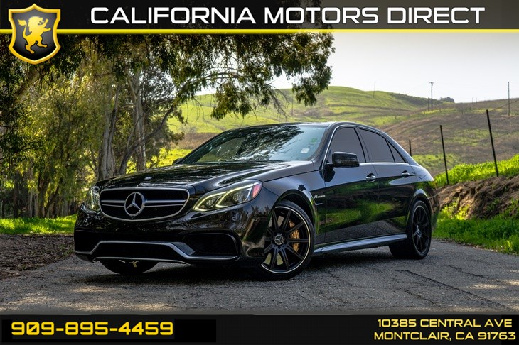 2014 Mercedes-Benz E 63 AMG S-Model 4MATIC(TWIN TURBO & BLUETOOTH)