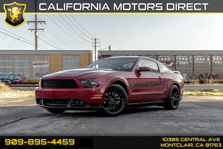 2011 Ford Mustang GT(CALIFORNIA SPECIAL EDITION & 3.73 RATIO AXLE)