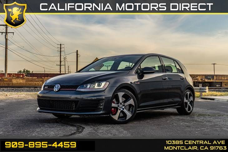 2016 Volkswagen Golf GTI Autobahn w/Performance Pkg(TURBOCHARGED&BLUETOOTH)