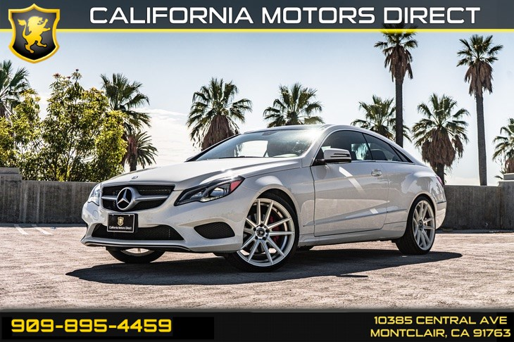 2017 Mercedes-Benz E 400 RWD Coupe (SUN/MOONROOF & PREMIUM PACKAGE)