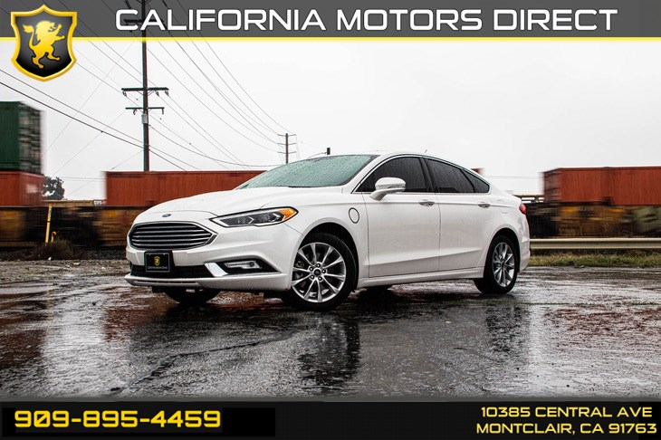 2017 Ford Fusion Energi SE(NAVIGATION & BLUETOOTH)