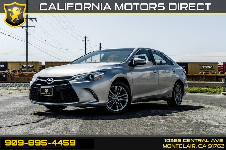 2015 Toyota Camry XLE(BLUETOOTH & BACK-UP CAMERA)