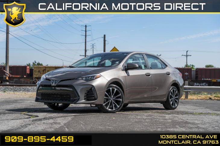 2017 Toyota Corolla SE(PREMIUM PACKAGE & BACK-UP CAMERA)