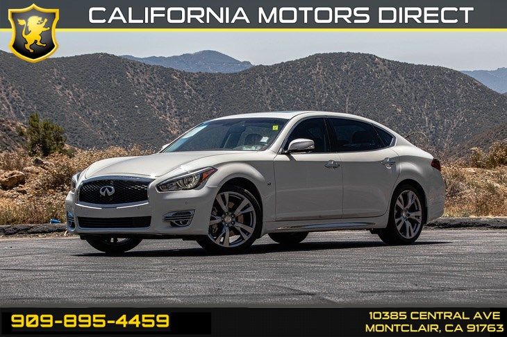 2016 INFINITI Q70L (TECHNOLOGY & PREMIUM PACKAGE)