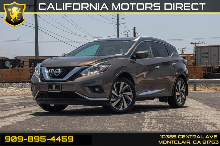 2016 Nissan Murano Platinum (TECHNOLOGY PACKAGE & BLUETOOTH)