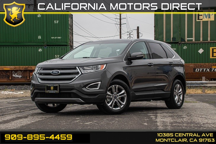 2017 Ford Edge SEL(TECHNOLOGY & NAVIGATION)