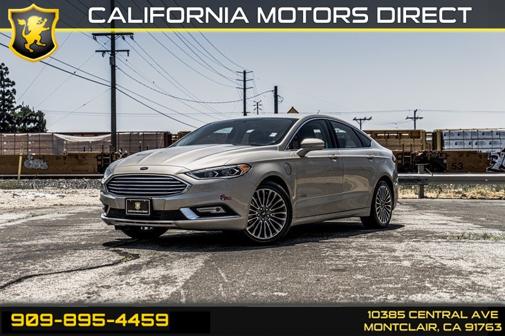 2017 Ford Fusion Energi SE(BLUETOOTH & NAVIGATION)