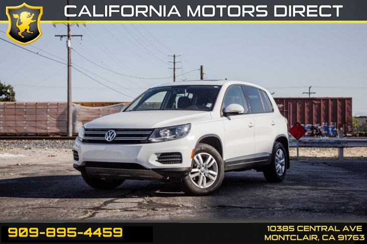 2013 Volkswagen Tiguan S w/Sunroof(TURBOCHARGED & BLUETOOTH)