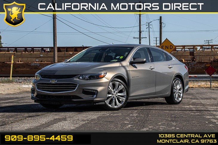 2017 Chevrolet Malibu Premier (TURBOCHARGED & BLUETOOTH)