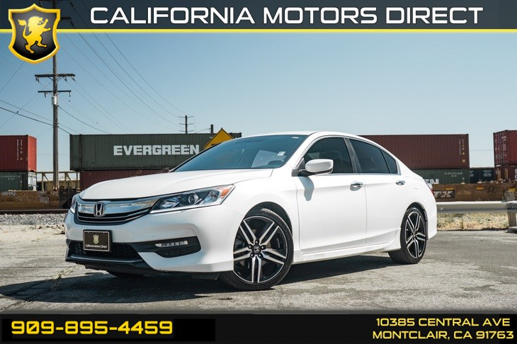 2016 Honda Accord Sedan Sport(BLUETOOTH & BACK-UP CAMERA)
