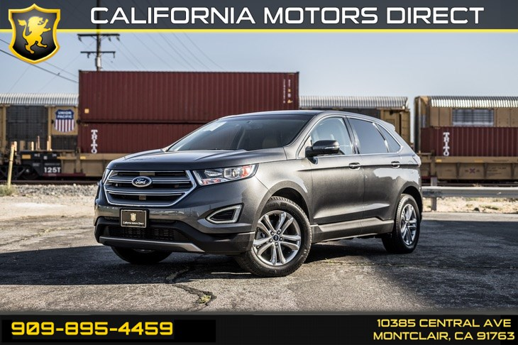 2017 Ford Edge SEL (KEYLESS ENTRY, BLUETOOTH, BUCKET STYLE SEATS)
