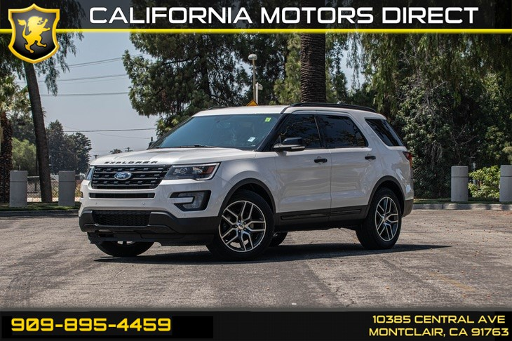 2017 Ford Explorer Sport(TURBOCHARGED & BLUETOOTH)