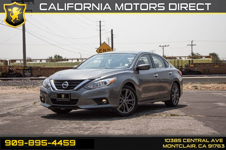 2018 Nissan Altima 2.5 SR(BLUETOOTH & TINTED GLASS)