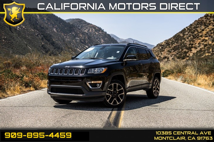 2018 Jeep Compass Limited(BLUETOOTH & BACK-UP CAMERA)