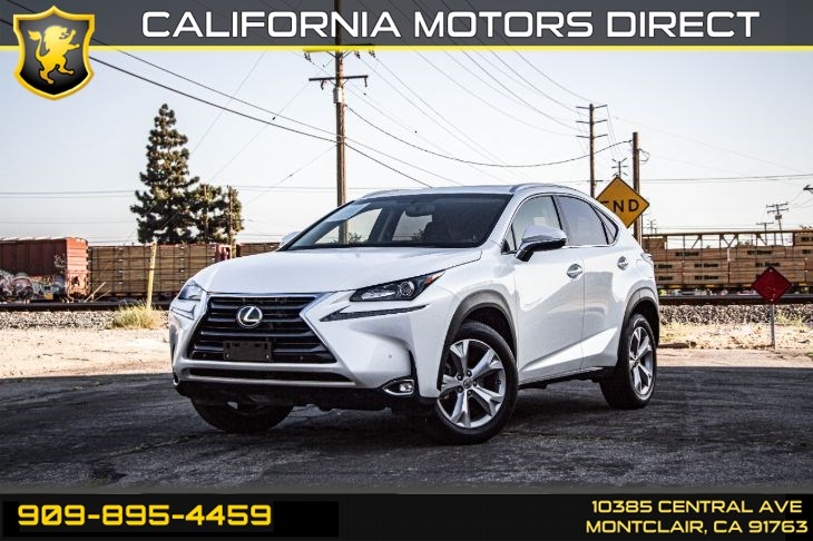 2017 Lexus NX NX Turbo(TURBOCHARGED & BACK-UP CAMERA)