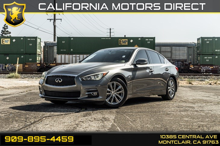 2017 INFINITI Q50 3.0t Premium (TURBOCHARGED & BLUETOOTH)