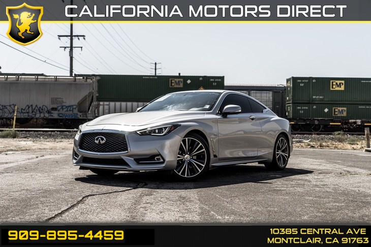2017 INFINITI Q60 3.0t Premium(TWIN TURBO & BLUETOOTH)