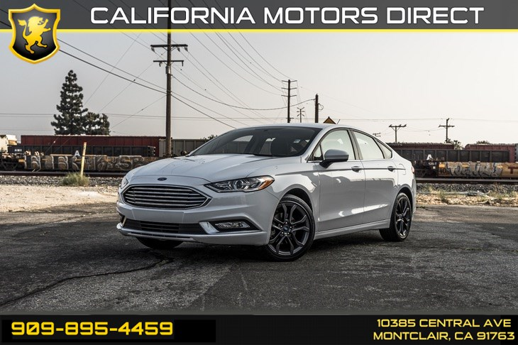 2018 Ford Fusion S (BLUETOOTH & BACK-UP CAMERA)