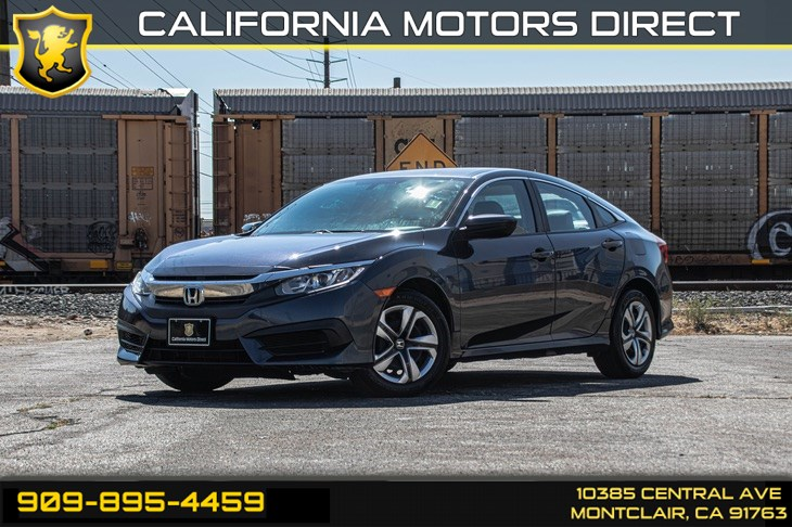 2016 Honda Civic Sedan LX (BLUETOOTH & BACK-UP CAMERA)
