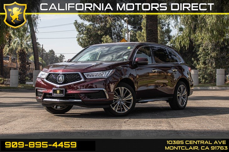 2017 Acura MDX w/Technology Pkg (SUN/MOONROOF & BACK UP CAMERA)