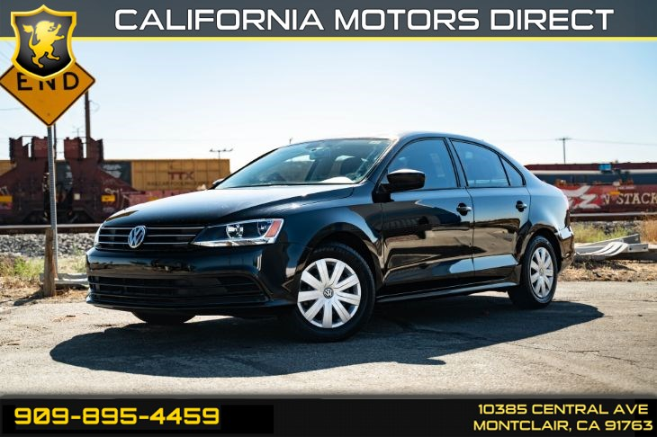 2015 Volkswagen Jetta Sedan 2.0L S (BLUETOOTH & KEYLESS ENTRY)