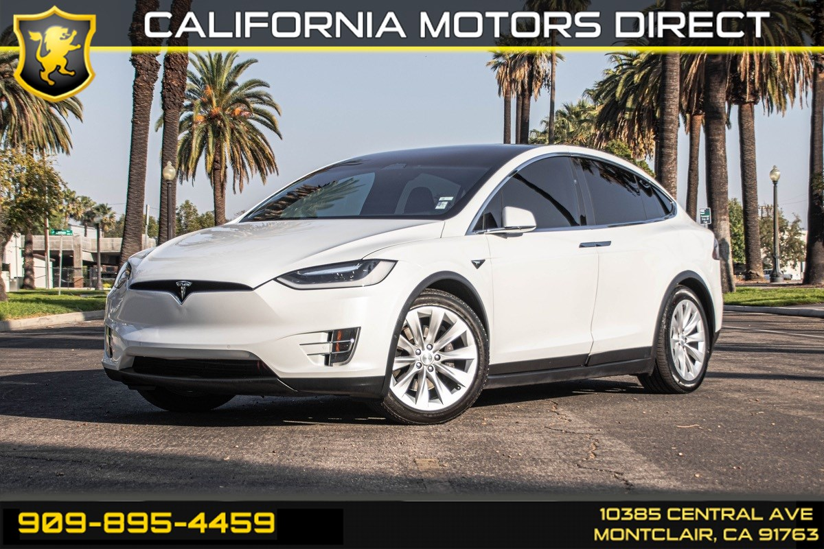 2016 Tesla Model X 75D (BLUETOOTH & WI-FI HOTSPOT)