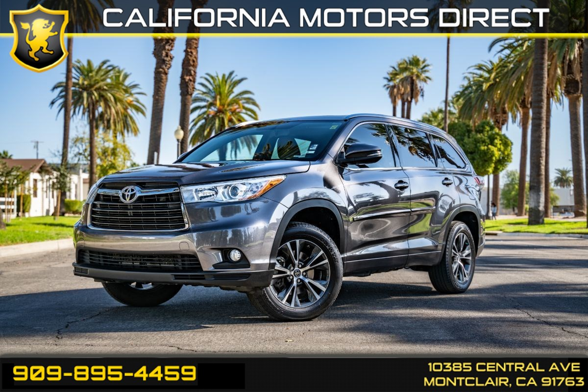 2016 Toyota Highlander XLE (BLUETOOTH & BACK-UP CAMERA)