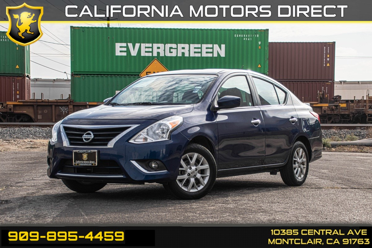 2018 Nissan Versa Sedan SV (BLUETOOTH & BACK UP CAMERA)
