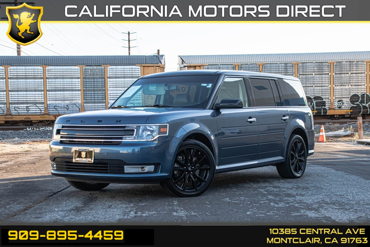 2018 Ford Flex SEL (BLUETOOTH & WI-FI HOTSPOT)